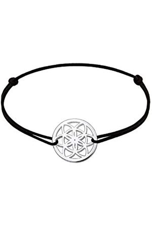 Elli Women's 925 Sterling Dreamcatcher Bracelet - 17cm length