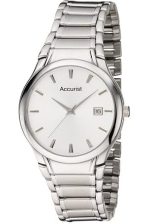 Accurist Men's Quartz Watch with Dial Analogue Display and Stainless Steel Bracelet Mb866S