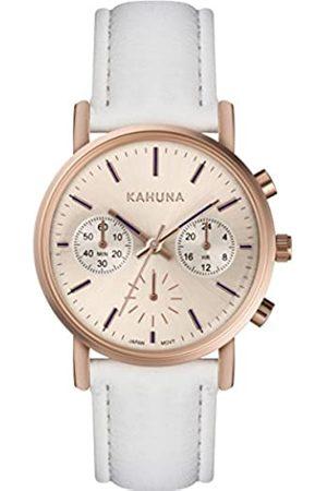 Kahuna Womens Chronograph Quartz Watch with PU Strap KLS-0384L
