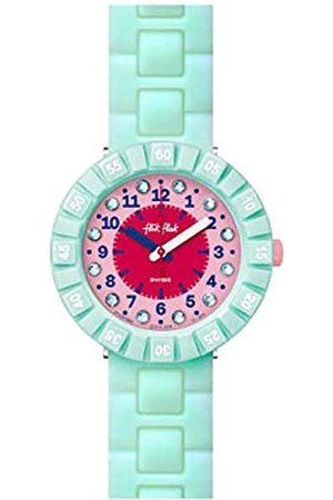 Flik Flak Girls Analogue Quartz Watch with Rubber Strap FCSP084