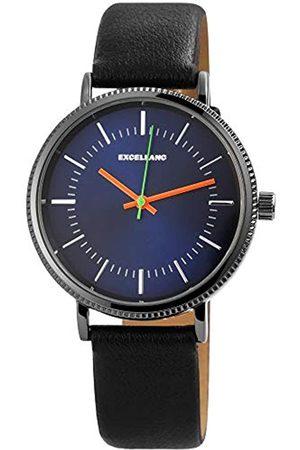 Excellanc Unisex Adult Analogue Quartz Watch with PU Strap 2900110-001