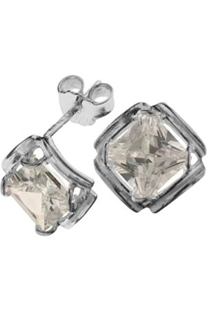 InCollections In Collections 0010261642340 Cubic Zirconia Sterling 925 Stud Earrings