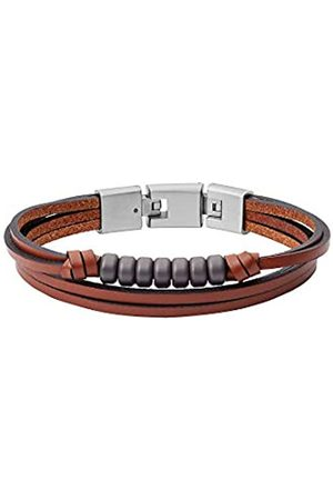 Fossil Men Stainless Steel Strand Bracelet - JF03128040