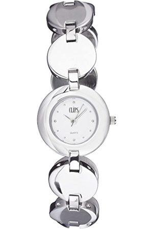 CLIPS Women's Quartz Watch 553-2006-88 with Metal Strap
