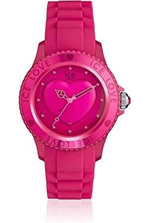 Ice-Watch Love Unisex Analogue Quartz Watch with Silicone Strap – LO.PK.U.S.10