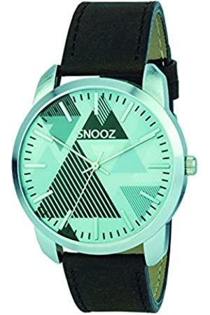 Snooz Men's Analogue Quartz Watch with Leather Strap Saa0044-67