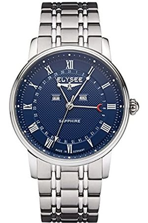 ELYSEE Unisex Adult Analogue Quartz Watch with Stainless Steel Strap 77018
