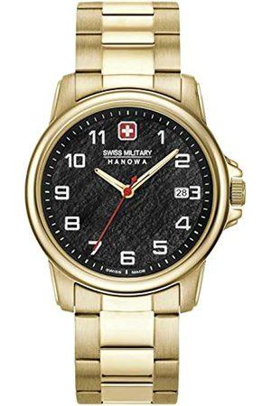 Swiss Military Hanowa Unisex Adult Analogue Quartz Watch with Stainless Steel Strap 06-5231.7.02.007