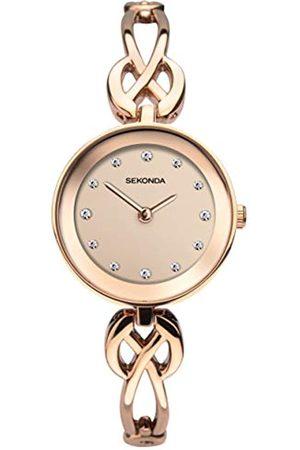 Sekonda Women Watches - Womens Analogue Classic Quartz Watch with None Strap 2645