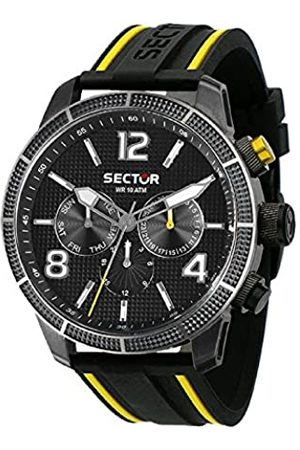 Sector Mens Analogue Quartz Watch with Silicone Strap R3251575014