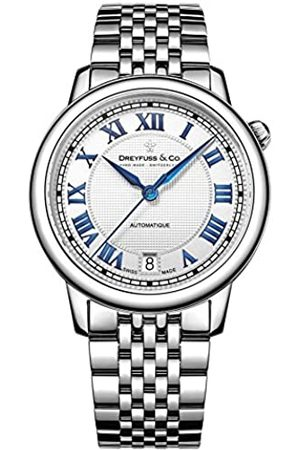 JÉRÔME DREYFUSS Womens Analogue Classic Automatic Watch with Stainless Steel Strap DLB00148/01