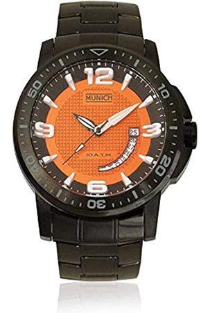Munich Unisex Adult Analogue Quartz Watch with Stainless Steel Strap MU+132.1C