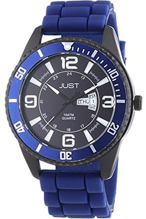 Just Watches Men's Quartz Watch 48-S10734-DBL with Plastic Strap