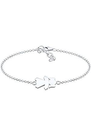 Elli Women's 925 Sterling Silver Strand Bracelet 0201420218_16 - 16cm length