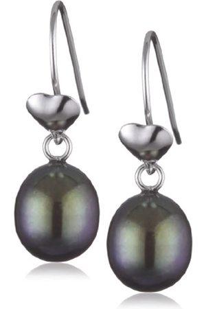 Sakura Pearl High Lustre 8.0-8.5 mm Teardrop Freshwater Pearl Sterling 925 Earrings