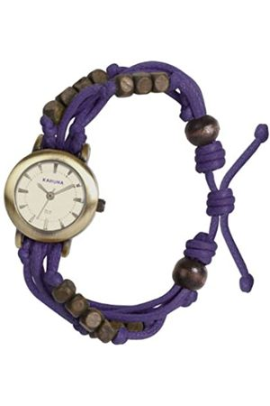 Kahuna Women's Quartz Watch with Dial Analogue Display and Plastic or PU Strap KLF-0010L
