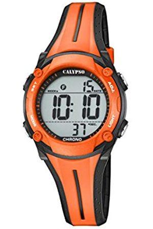 Calypso Unisex-Adult Digital Quartz Watch with Plastic Strap K5682/B
