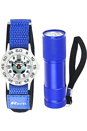 Ravel Children's Football Watch and Micro Torch Gift Set
