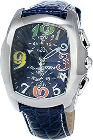 Chronotech Men's Analogue Quartz Watch with Leather Strap CT7895M-63