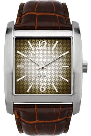 Ben Sherman Men's Quartz Watch with Dial Analogue Display and Leather Strap R822.03BS
