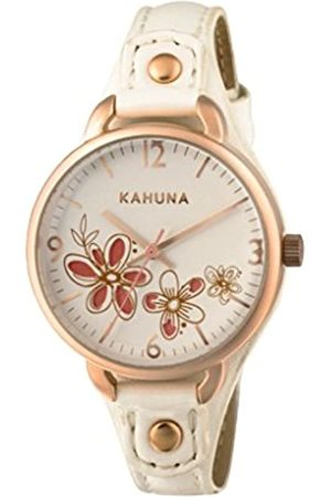 Kahuna Women's Quartz Watch with Dial Analogue Display and PU Strap KLS-0312L