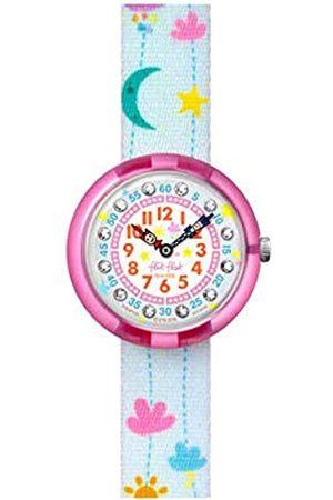 Flik Flak Girls Analogue Quartz Watch with Textile Strap FBNP120