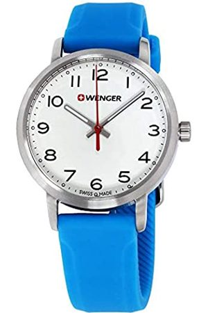 Wenger Unisex Analogue Quartz Watch with Silicone Strap 01.1621.109