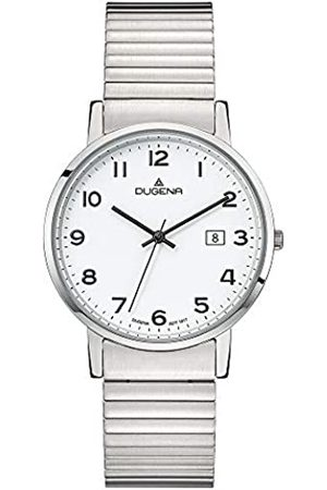 DUGENA Men's Analogue Quartz Watch with Stainless Steel Strap 4460751