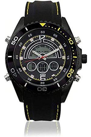 Munich Unisex Adult Digital Quartz Watch with Rubber Strap MU+123.1C