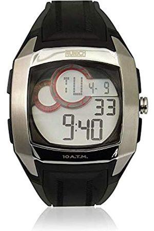 Munich Unisex Adult Digital Quartz Watch with Rubber Strap MU+128.1A