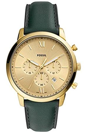Fossil Mens Analogue Quartz Watch with Real Leather Strap FS5580