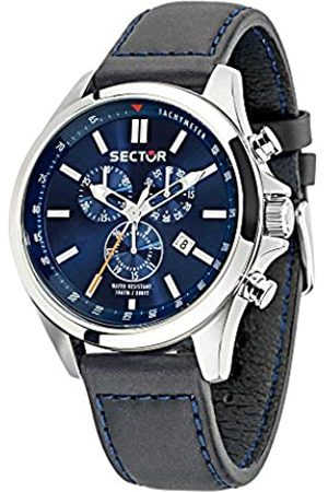 Sector Men's Chronograph Quartz Watch with Leather Strap R3271690014