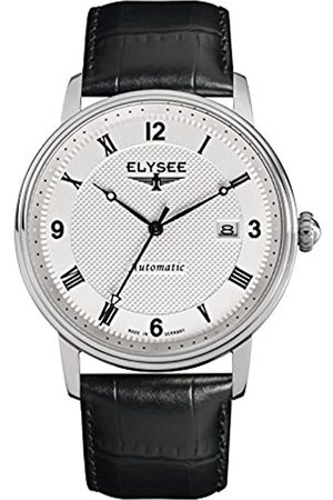 ELYSEE Unisex Adult Analogue Automatic Watch with Leather Strap 77004