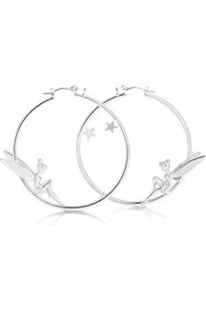 Disney Women Plated Hoop Earrings DYE461