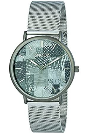 Snooz Men's Analogue Quartz Watch with Stainless Steel Strap Saa1042-87
