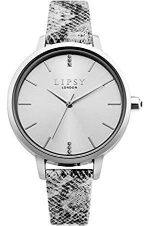 Lipsy London Womens Analogue Classic Quartz Watch with PU Strap LP661