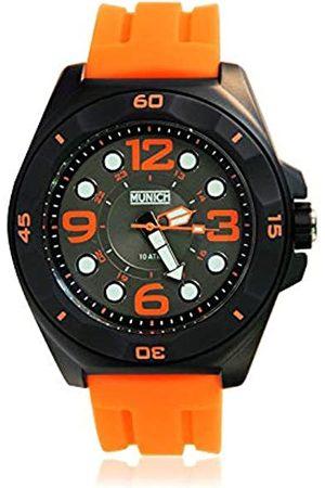 Munich Unisex Adult Analogue Quartz Watch with Silicone Strap MU+112.4A