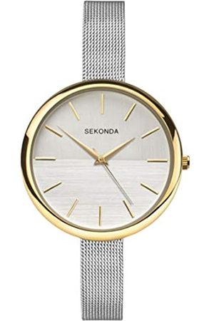 Sekonda Womens Analogue Classic Quartz Watch with Stainless Steel Strap 2561.27
