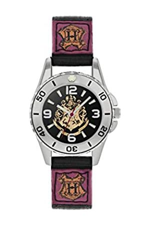 Harry Potter Unisex Kid's Analogue Analog Quartz Watch with Canvas Strap HP5100