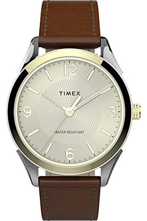 Timex Men's Briarwood 40 mm Leather Strap Watch TW2T67000
