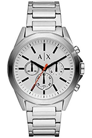 Armani Mens Chronograph Quartz Watch with Stainless Steel Strap AX2624