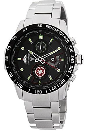 Burgmeister Men's Quartz Watch with Dial Chronograph Display and Stainless Steel Bracelet BMS01-121