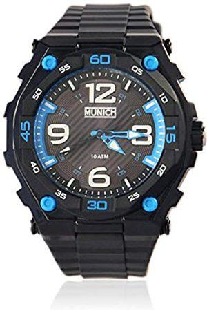 Munich Unisex Adult Analogue Quartz Watch with PU Strap MU+110.1D