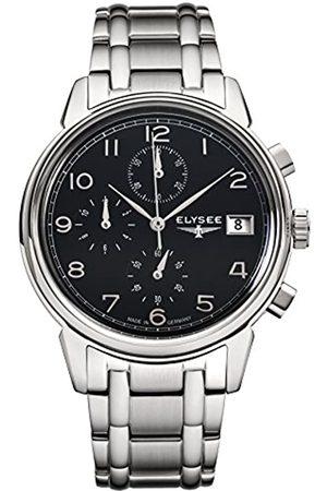 ELYSEE Men's 80551S Classic-Edition Analog Display Quartz Silver Watch