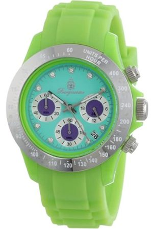 Burgmeister BM514-990D Florida, Ladies watch, Analogue display, Chronograph with Seiko Movement - Water resistant, Sporty and trendy silicone strap
