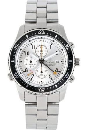 Burgmeister Rio De Janeiro Bm316-111 Alarmchronograph Stainless Steel Bracelet Dial Date
