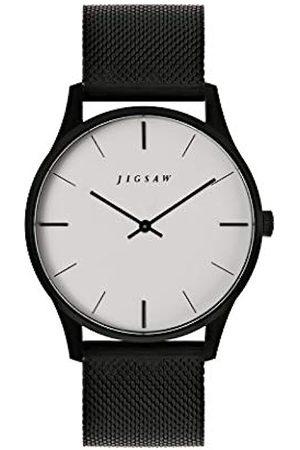 Jigsaw Womens Analogue Classic Quartz Watch with Stainless Steel Strap JG4012