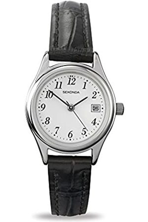Sekonda Women's Quartz Watch with Dial Analogue Display and Leather Strap 4081.27