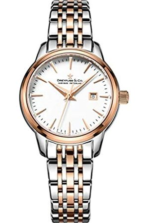 JÉRÔME DREYFUSS Womens Analogue Classic Quartz Watch with Stainless Steel Strap DLB00127/02