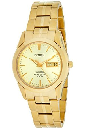 Seiko Mens Analogue Quartz Watch with Stainless Steel Strap SGGA62P1